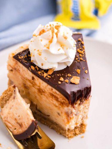 Instant Pot Butterfinger Cheesecake