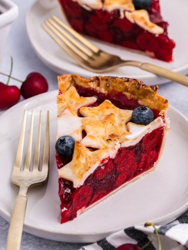 Red, White, and Blue Cherry Pie