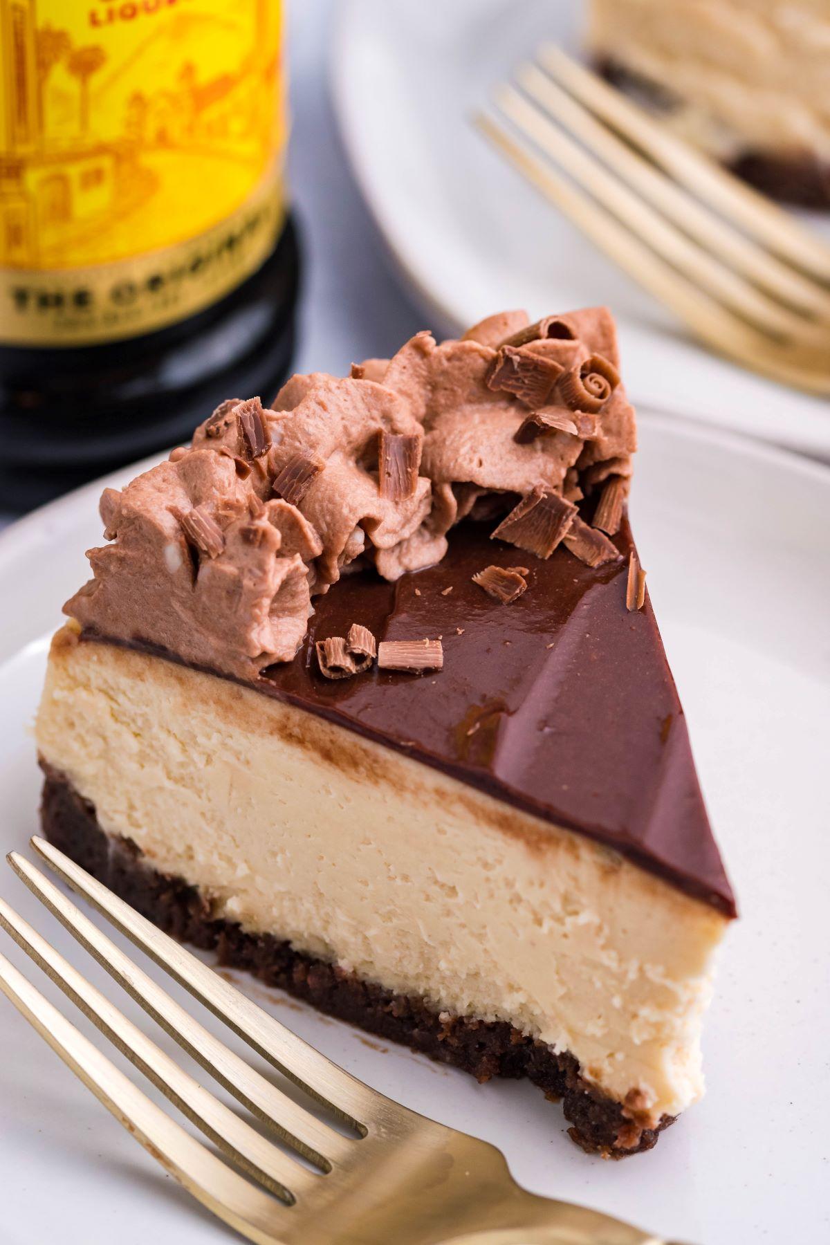 Brownie Bottom Kahlua Cheesecake (Instant Pot)