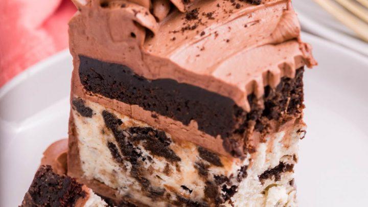 Instant Pot Oreo Cheesecake Chocolate Cake